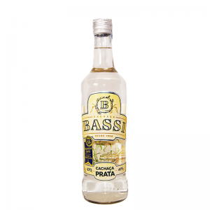 Cachaça Bassi Prata 670 ml