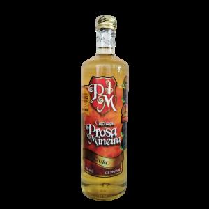 Cachaça Prosa Mineira – 700 ml – Ouro